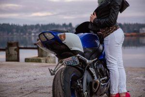 permis conduire moto femme